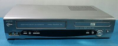 Video Reproductor Vhs Cassette Sanyo Hv-Dx4Sp Con Dvd