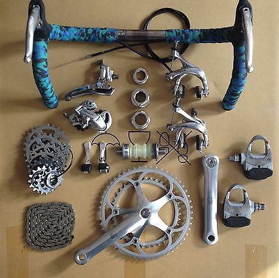 Campagnolo CHORUS, Vintage 8-speed Groupset, 3TTT Competizione handlebars