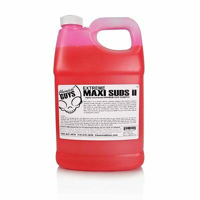 Chemical Guys - Maxi-Suds II Super Suds Car Wash Soap and Shampoo (1 Gal)
