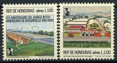 17-01-00234 - Honduras 1983 Mi.  1007-1008 MNH 100% International bank