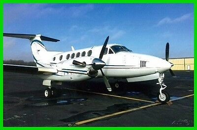 1981 Beechcraft King Air 200 Used, All Logs Available, No Known Damage History