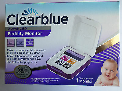 *new* Clearblue Advanced Fertility Monitor Brand New/sealed