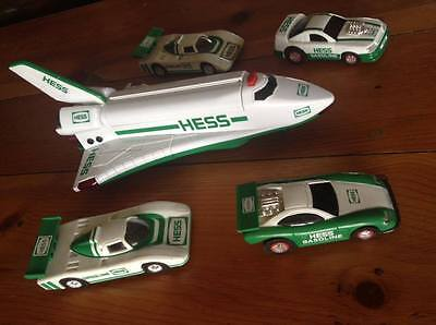Lot of 5 Hess Trucks Vehicles (1997 1998 1999) Good Condition No Boxes