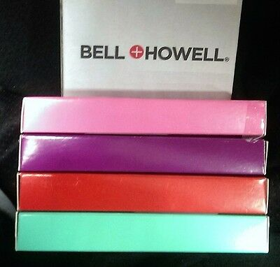 Bell + Howell KnightHawk Pens 4-pack with Stylus, Light and Magnifier