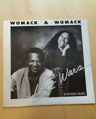 Womack And Womack Love Wars 12Inch Vinyl Single