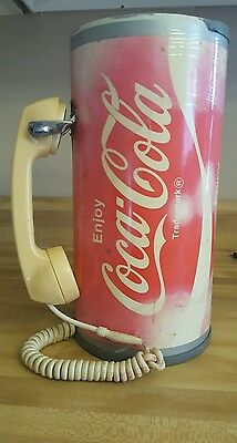 COCA-COLA COKE CUP PHONE ADVERTISING Working RARE FIND
