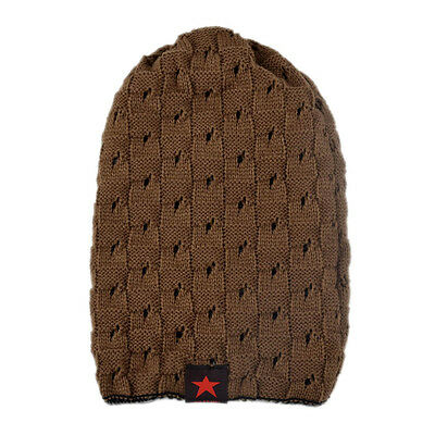 Unisex Hat Super Winter Skull Chunky Knit Beanie Reversible Baggy Cap Classic