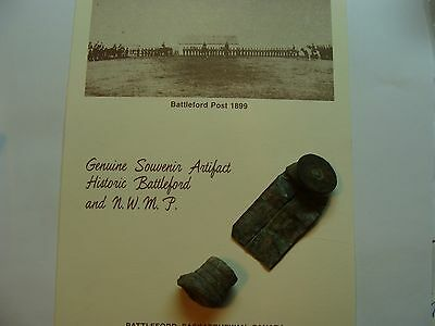 nwmp artifacts,577 snider cartridge and slug very old 1870s,on card.