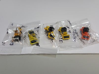 Lot Of 41 Micro Machines Ertl Construction Loaders, Scooper, Dozers, Rollers Etc
