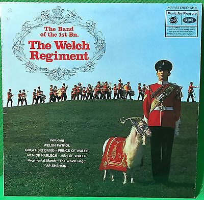 The Welch Regiment 1st Bn Band of Vinyl Record LP