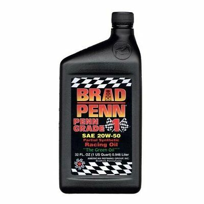 Brad Penn 009-7119-12PK 20W-50 Partial Synthetic Racing Oil 12 pack