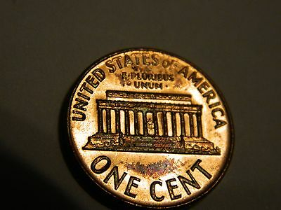1969-S Lincoln Memorial Cent Penny 1C Uncirculated UNC BU MS--INV136