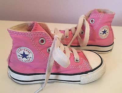 Converse Infant Girls Ankle Boots Size 5