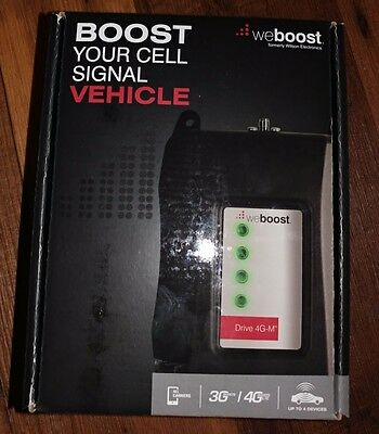 WeBoost Drive 4G-M Cell Phone Signal Booster Kit for Car, Truck or RV   * NEW *