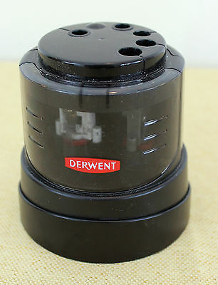 Derwent Multi-Diameter Pencil Sharpener Battery Operated Tested FREE SHIPPING