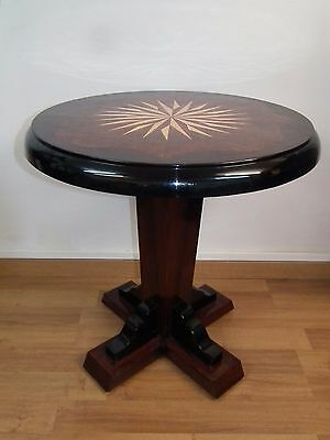 Grande Table Ronde Art Deco