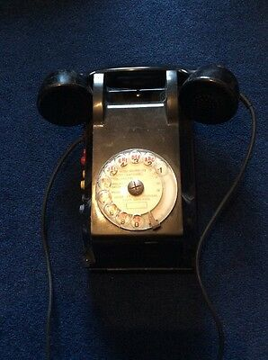 Vintage French SNCF Railway Telephone - Bakelite