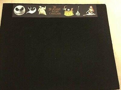 NEW 8x10 Pin Board Nightmare Before Christmas