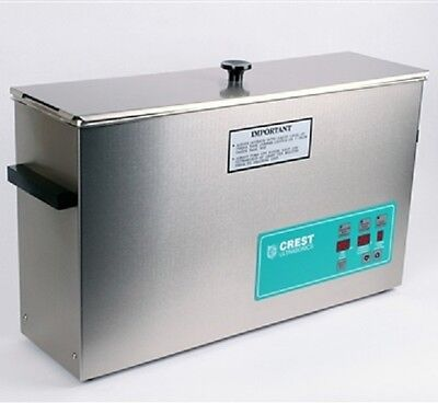 Crest Powersonic Ultrasonic Cleaner 2.5 Gal Heat, Degas & Digital Timer CP1200D