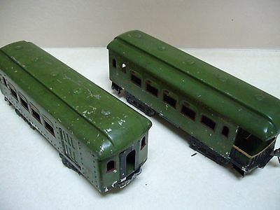 ives #171 and 173 passenger cars