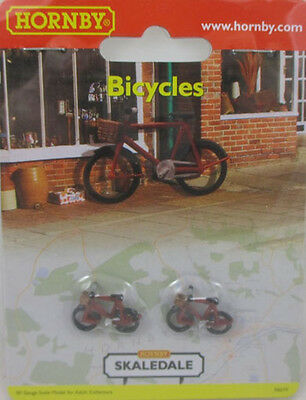 Hornby Skaledale Bicycles (Pack Of 2) Oo Scale New Mint & Sealed
