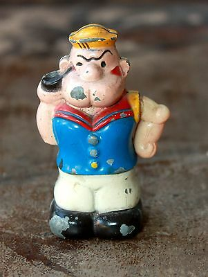 Vintage Popeye Cast Iron Lighter 3 Inch