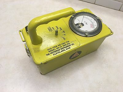 Victoreen Cdv-715 Geiger Counter
