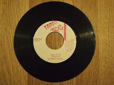 Courtney Melody  Lean On Me / Version  Tappa Records