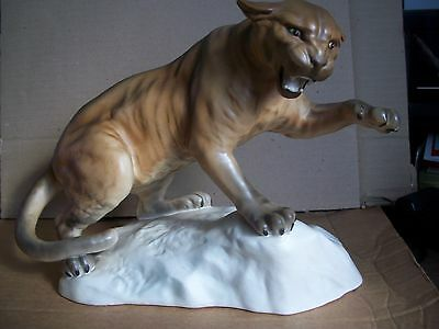 Beswick Puma On Rock