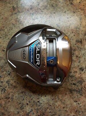 Tour Issue Toe Screw Taylormade Sldr 460 10.5* Driver Head Only Good Condition