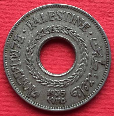 Palestine Israel Islamic Arabic coin 5 Mils 1935 British Administration