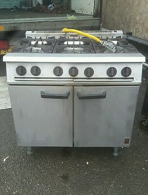 Falcon Dominator 6 burner Cooker With Under Oven