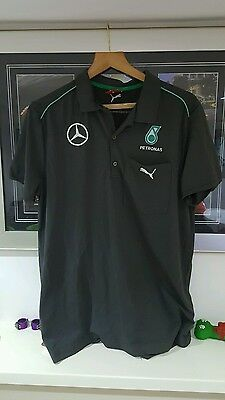 F1 mercedes team issue lewis hamilton size large