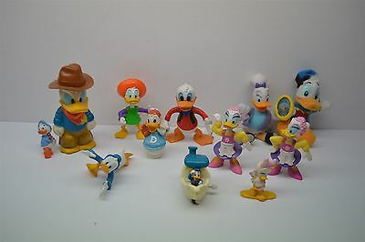 """Lot of 12 Disney Donald Duck & Friends PVC Toys Cake Topper Toys 2"""" - 5"""" Tall"""