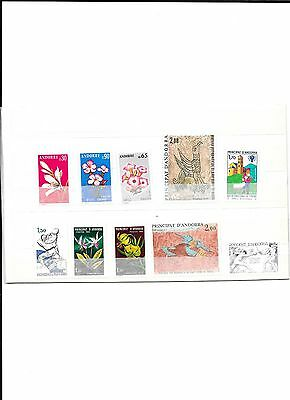 Timbres neufs d'Andorre
