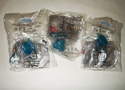 Lot3 Zevex EnteraLite Infinity Enteral Pump Delivery Feeding Bags 1200ml INF1200