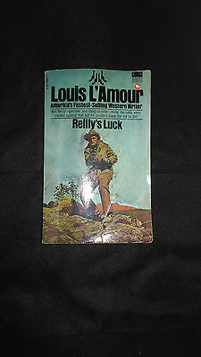 Reilly's Luck Vintage Western Paperback Book (1982) Louis L'Amour (Corgi)