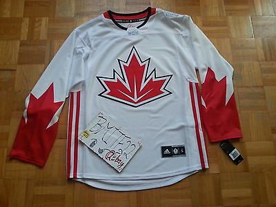 NWT Canada World Cup 2016 Adidas Ice Hockey Premier Jersey Men XL X-Large