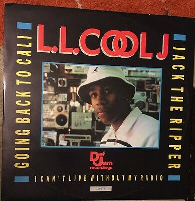 """Ll Cool J - Jack The Ripper/ Going back To Cali. 12"""" Single."""