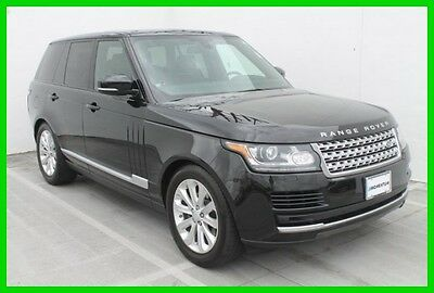 2015 Land Rover Range Rover HSE Call Steven at 832-724-0244 2015 HSE Used 3L V6 24V Automatic 4WD SUV Premium