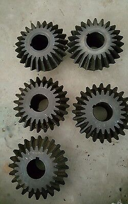 "5 NEW Martin HMK624 Miter Gear 20 Pressure Angle High Carbon Steel 1 1/4""  Bore"