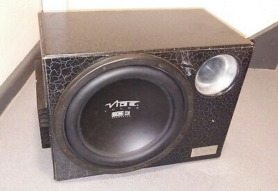 vibe 12inch sub with built in amp 1600watt
