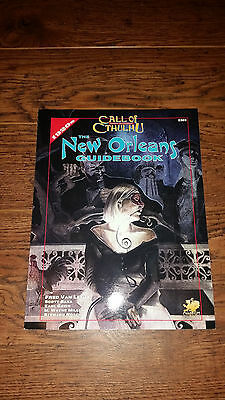 Call of Cthulhu The New Orleans Guidebook OOP