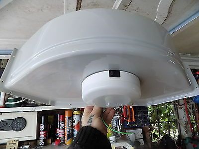 caravan 12v bathroom corner light