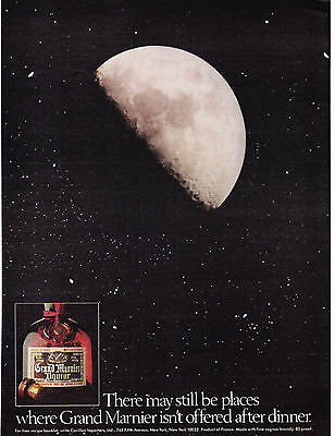 Original Print Ad-1978 Places Where GRAND MARNIER Isn't Served After Dinner/MOON