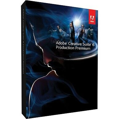 Adobe Production Premium CS6 Windows (2 PCs) Download Direct from Adobe