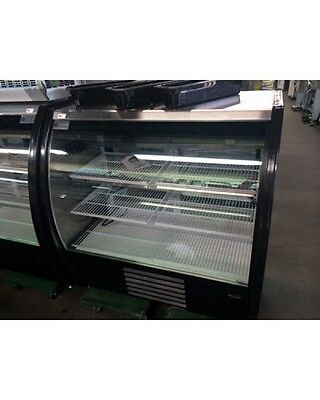 """NEW,Howard McCray Mirage-4-DC Curved Glass 48"""" Deli/Bakery Case"""