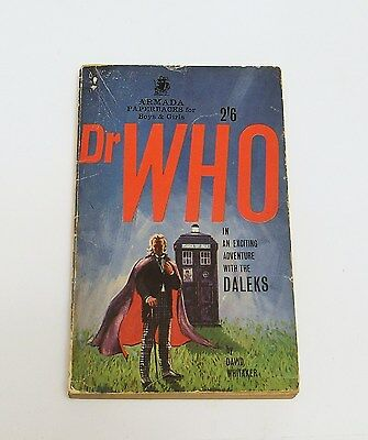 First edition of first Dr Doctor Who paperback. Daleks Armada Whitaker book 1965