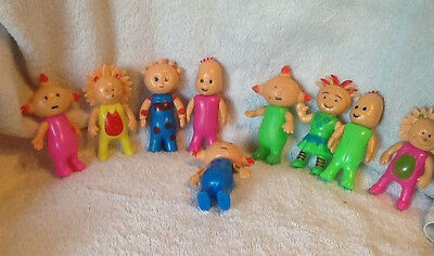 Lot of In the Night Garden Character Figures Toys Cake Toppers