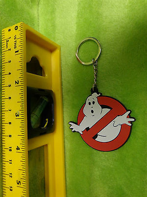 Ghostbusters Double Sided Rubber Silicone Keychain  Ghost